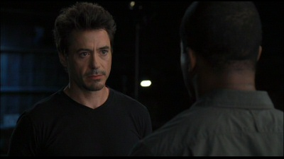 Robert Downey Jr. screen test from the Iron Man DVD