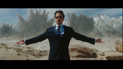 Robert Downey Jr. is Tony Stark from Iron Man