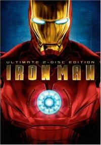 Iron Man DVD cover art