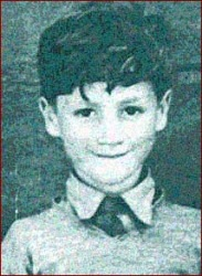 John Lennon as a boy