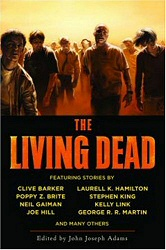 Living Dead book cover art