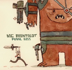 MC Frontalot: Final Boss album cover art