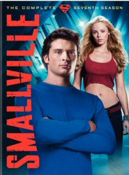Smallville Season 7: DVD cover art