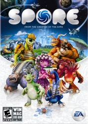 Spore game cover art