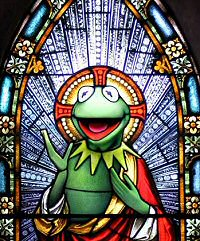 St. Kermit from Worth1000