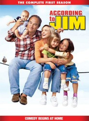 According to Jim: The Complete First Season DVD cover art