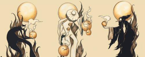 Brandi Milne\'s Halloween print