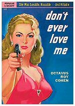 Don\'t Ever Love Me book cover art