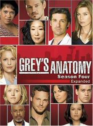 Grey's Anatomy: Season 4 DVD cover art