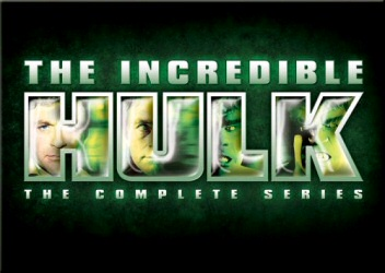Incredible Hulk: Complete Series DVD cover art