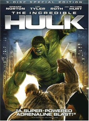 The Incredible Hulk DVD cover art