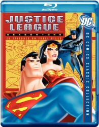 Justice League Season One Blu-Ray cover art