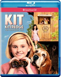 Kit Kittredge: An American Girl Blu-Ray cover art