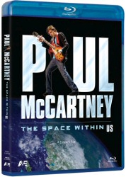 Paul McCartney: The Space Within US Blu-Ray cover art