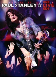 Paul Stanley: One Live Kiss DVD cover art