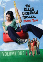 The Sarah Silverman Program, Season Two, Vol. 1 DVD cover art