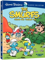 The Smurfs: Season One, Vol. 2 DVD cover art