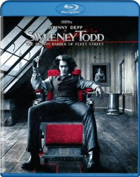 Sweeney Todd Blu-Ray cover art