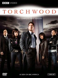 Torchwood: The Complete First Season DVD cover art