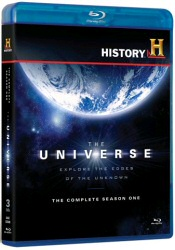 The Universe: The Complete Season One Blu-Ray cover art