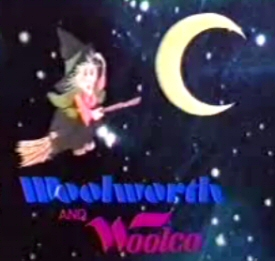Woolworth and Woolco retro Halloween costume commercial
