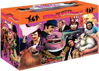 The Complete Monty Python's Flying Circus Collector's Edition DVD cover art