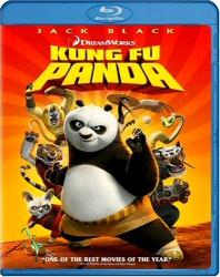 Kung Fu Panda Blu-Ray cover art