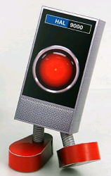 Mr. HAL 9000 papercraft