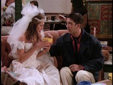 Jennifer Aniston and David Schwimmer from Friends: The Complete First Season