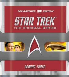 Star Trek: The Original Series Remastered Season 3 DVD cover art
