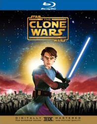 Star Wars: Clone Wars Blu-Ray cover art