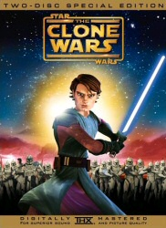 Star Wars: Clone Wars DVD cover art