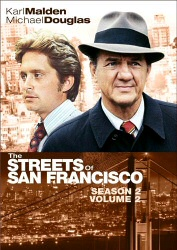 Streets of San Francisco Season 2, Vol. 2 DVD cover art