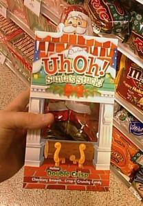 Uh-Oh!  Santa's Stuck!