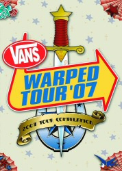 Vans Warped Tour 2007 DVD cover art