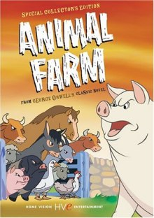 Animal Farm (1954) DVD cover art