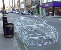 Benedict Radcliffe's wire car
