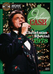 Johnny Cash Christmas Special 1978 DVD cover art