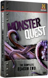 Monster Quest: The Complete Season Two DVD cover art