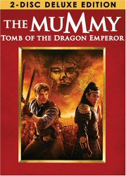 The Mummy: Tomb of the Dragon Emperor DVD cover art