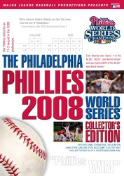 Philadelphia Phillies 2008 World Series Collector's Edition DVD cover art