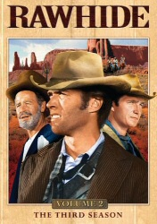 Rawhide Season 3, Vol. 2 DVD cover art
