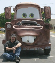 Real Life Mater from Cars