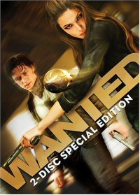 Wanted DVD cover art