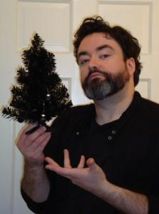 Widge and his Xmas Tree