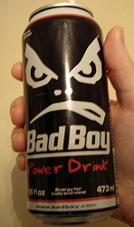 Bad Boy Power Drink