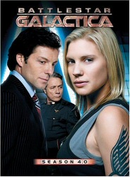 Battlestar Galactica Season 4.0 DVD cover art