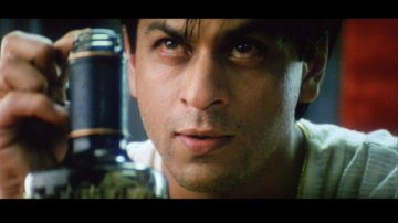 Shahrukh Khan as Devdas