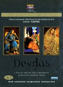Devdas DVD cover art