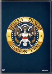 Frisky Dingo Season Two DVD cover art